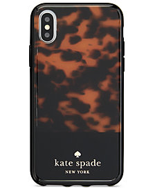 kate spade new york Tortoiseshell iPhone X Case