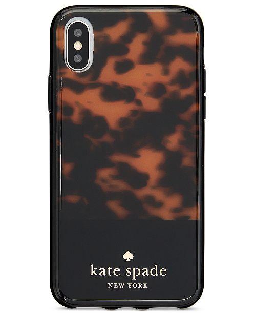 78a6d62c19fb kate spade new york Tortoiseshell iPhone X Case   Reviews ...