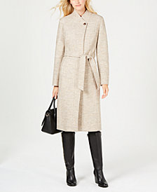 Cole Haan Signature Belted Walker Coat
