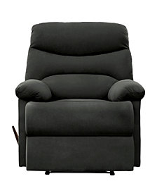 ProLounger® Wall Hugger Recliner in Gray Microfiber