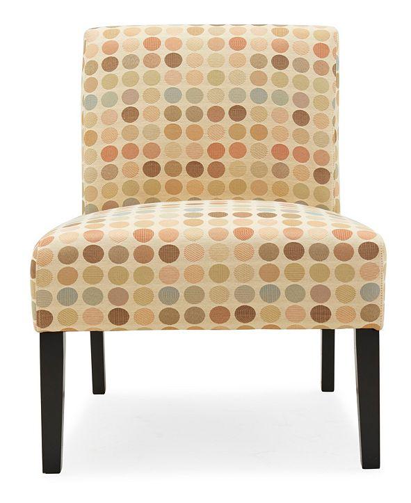 Handy Living Noah Armless Chair