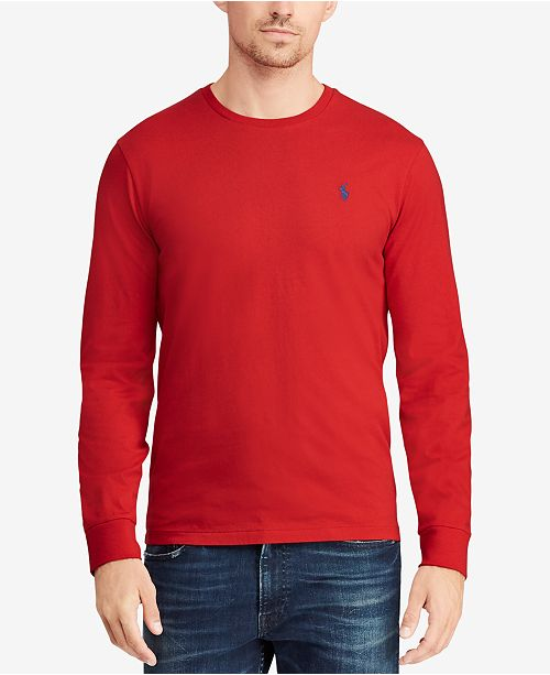 dfb8a0d1e ... T-Shirt  Polo Ralph Lauren Men s Big   Tall Classic-Fit Crew-Neck ...