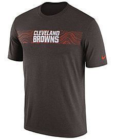 Nike Men's Cleveland Browns Legend On-Field Seismic T-Shirt