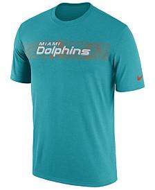 c5a2b54e1c Nike Men s Miami Dolphins Legend On-Field Seismic T-Shirt