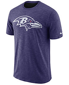 Nike Men's Baltimore Ravens Dri-Fit Cotton Slub On-Field T-Shirt