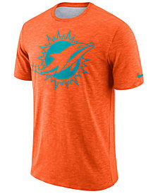 Nike Men's Miami Dolphins Dri-Fit Cotton Slub On-Field T-Shirt