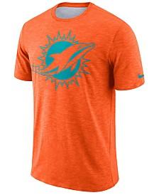 Nike Men's Miami Dolphins Dri-Fit Cotton Slub On-Field T-Shirt