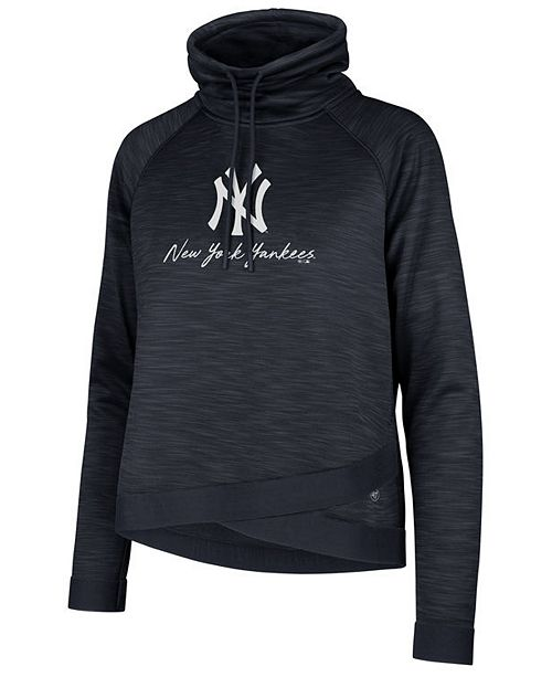 47 Brand Women s New York Yankees Commuter Funnelneck Sweatshirt - Sports  Fan Shop By Lids - Women - Macy s 8e74d86b7