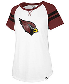 '47 Brand Women's Arizona Cardinals Flyout Raglan T-Shirt