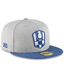 New Era Indianapolis Colts On Field Sideline Road 59FIFTY FITTED Cap