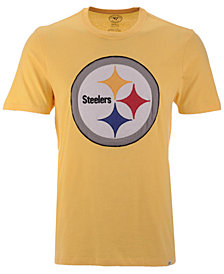 '47 Brand Men's Pittsburgh Steelers Knockout Fieldhouse T-Shirt