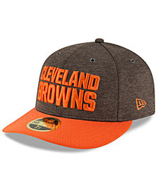 New Era Cleveland Browns On Field Low Profile Sideline Home 59FIFTY FITTED Cap
