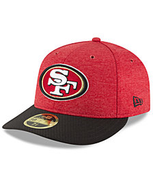 New Era San Francisco 49ers On Field Low Profile Sideline Home 59FIFTY FITTED Cap