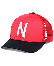 Top of the World Nebraska Cornhuskers Chatter Stretch Fitted Cap