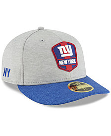New Era New York Giants On Field Low Profile Sideline Road 59FIFTY FITTED Cap