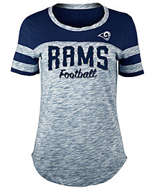 5th & Ocean Women's Los Angeles Rams Space Dye T-Shirt