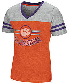 Colosseum Clemson Tigers Pee Wee T-Shirt, Girls (4-16)