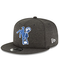 New Era Indianapolis Colts On Field Sideline Home 9FIFTY Snapback Cap