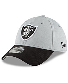 New Era Oakland Raiders On Field Sideline Home 39THIRTY Cap