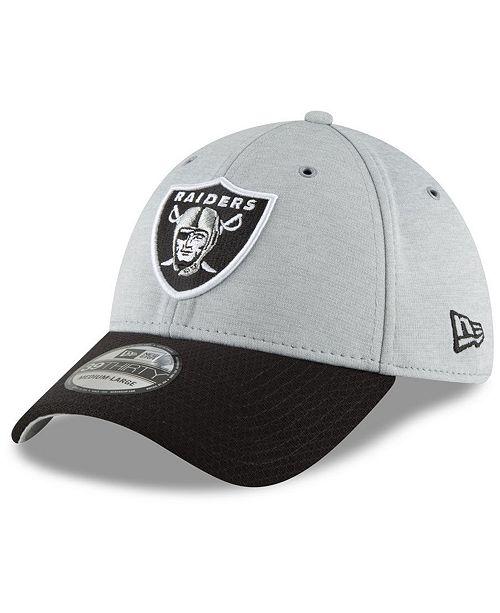32079e60 ... New Era Oakland Raiders On Field Sideline Home 39THIRTY Cap ...