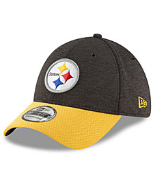 New Era Pittsburgh Steelers On Field Sideline Home 39THIRTY Cap