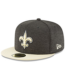 New Era New Orleans Saints On Field Sideline Home 59FIFTY FITTED Cap