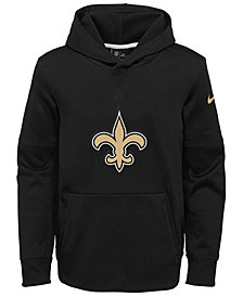 Nike New Orleans Saints Circuit Logo Hoodie, Big Boys (8-20)