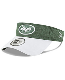 New Era New York Jets On Field Sideline Visor