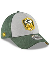 d17e45d4968 New Era Green Bay Packers On Field Sideline Road 39THIRTY Stretch Fitted Cap