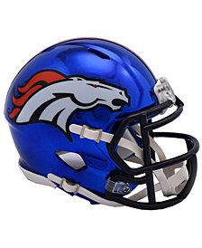 Riddell Denver Broncos Speed Chrome Alt Mini Helmet