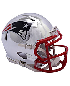 Riddell New England Patriots Speed Chrome Alt Mini Helmet