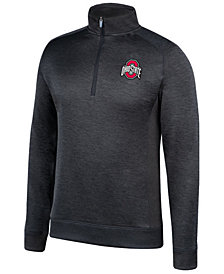 Top of the World Men's Ohio State Buckeyes Challenger Quarter-Zip Pullover