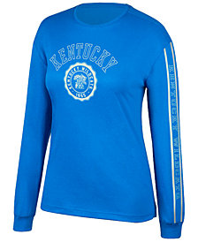J America Women's Kentucky Wildcats Boyfriend Long Sleeve T-Shirt