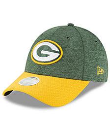 New Era Women's Green Bay Packers On Field Sideline Home 9FORTY Strapback Cap