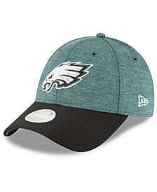 New Era Women's Philadelphia Eagles On Field Sideline Home 9FORTY Strapback Cap