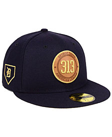 New Era Detroit Tigers Area Patch 59FIFTY Fitted Cap