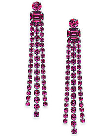 kate spade new york Crystal Fringe Chandelier Earrings