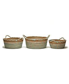 Phuket Set of 3 Seagrass Baskets