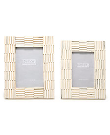 Ridges Set of 2 Photo Frames Includes 2 Sizes