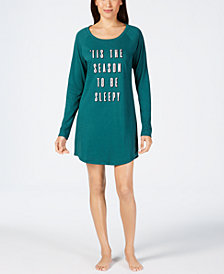 Jenni by Jennifer Moore Graphic-Print Sleepshirt, Created for Macy's