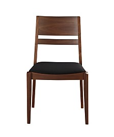Figaro Dining Chair Black-Set Of Two