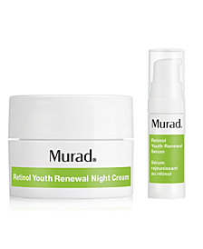 Receive a FREE 2 pc. Retinol duo with $45 Murad purchase!