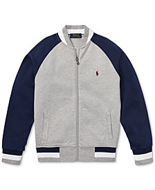 Polo Ralph Lauren Toddler Boys Cotton Baseball Jacket