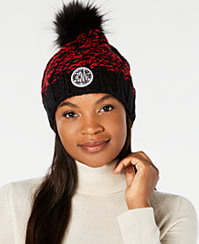 DKNY Two-Tone Chunky Knit Beanie, Created for Macy's
