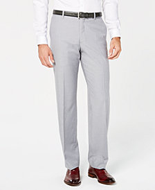 I.N.C. Men's Grey Regular-Fit Pants, Created for Macy's