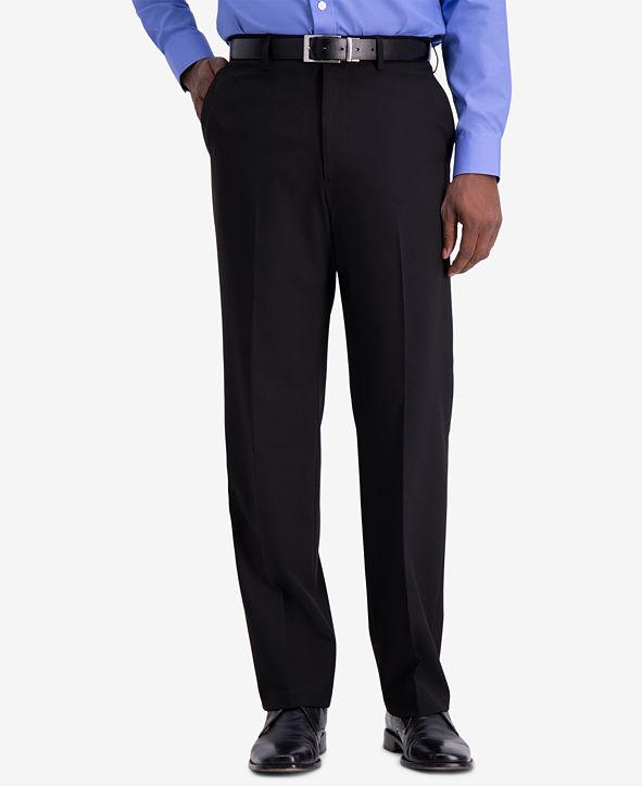 Haggar J.M. Men's Premium Classic-Fit 4-Way Stretch Dress Pants