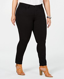 Lucky Brand Plus Size Lolita Skinny Jeans