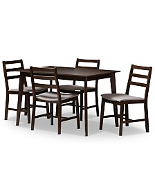 Nadine 5-pc. Dining Set, Quick Ship