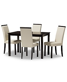 Daveney 5-Pc. Dining Set, Quick Ship