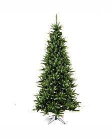 Vickerman 7.5' Camdon Fir Slim Artificial Christmas Tree Unlit
